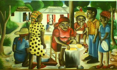 Haitianarts quadro cucina crola ricette