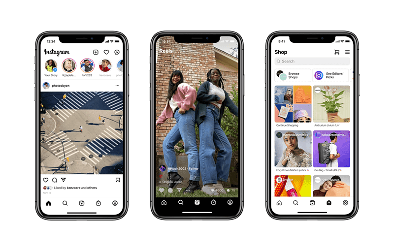 Instagram to add Reels and Shop tabs to its home screen