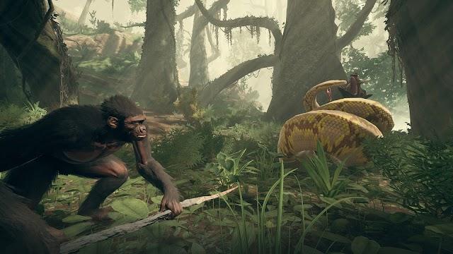 Как убить тигра, змею, крокодила или других животных в Ancestors: The Humankind Odyssey