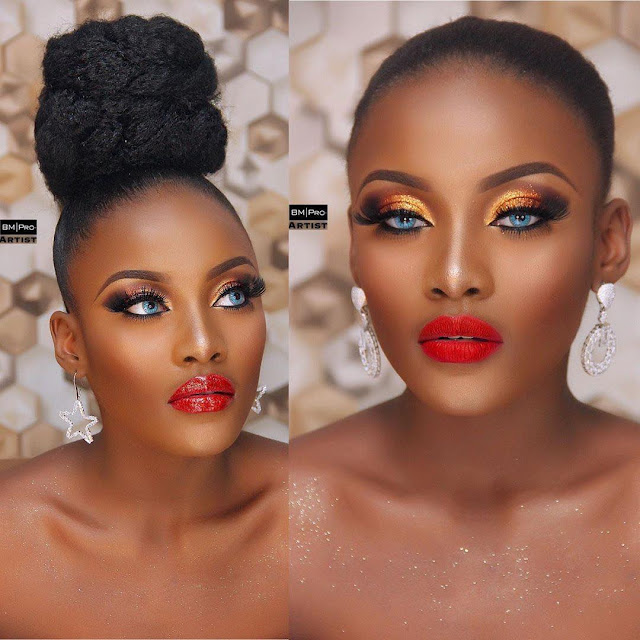 2019 Captivating Makeup Styles for Black Women