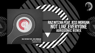 Lyrics Not Like Everyone - Raz Nitzan feat. Jess Morgan