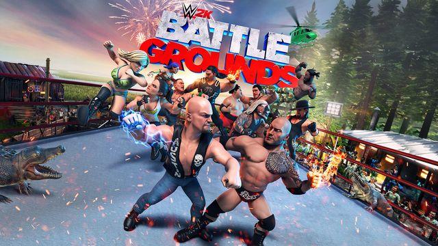 WWE 2K Battlegrounds v1.0.2.0 NSP XCI For Nintendo Switch