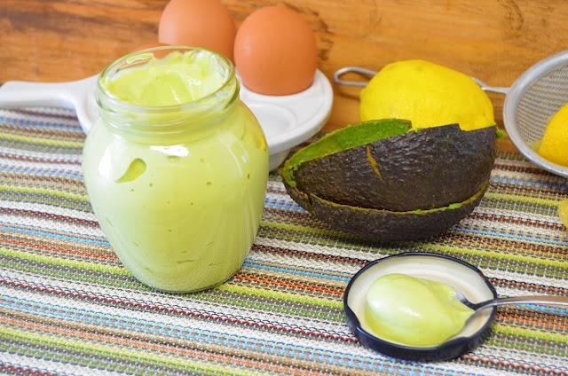 Las delicias de Mayte, mayonesa de aguacate casera, mayonesa de aguacate, mayonesa de aguacate saludable, mahonesa de aguacate, mayonesa de aguacate con huevo, mayonesa de aguacate fit, mayonesa de aguacate receta,