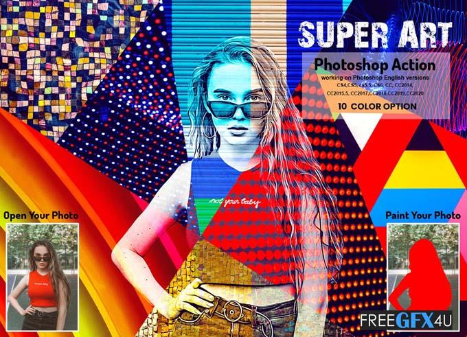 Super Art Photoshop Action