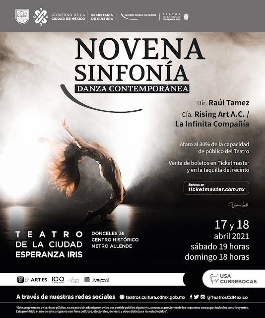 La NOVENA SINFONÍA de BEETHOVEN en el TEATRO DE LA CIUDAD ESPERANZA IRIS