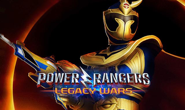 Cavaleiro Solaris é o novo personagem de Power Rangers Legacy Wars