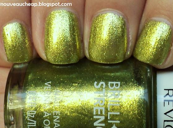 Review & Swatches: Revlon Brilliant Strength Nail Enamel ...