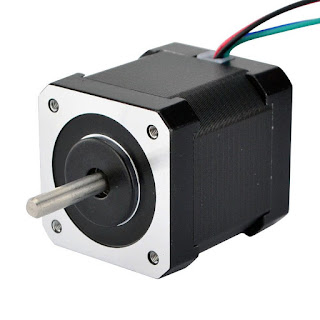 What is the maximum speed of a stepper motor?