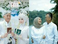 Viral Perempuan Berusia 22 Tahun Menikah Dengan Pria Berusia 70, Real Sugar Daddy...