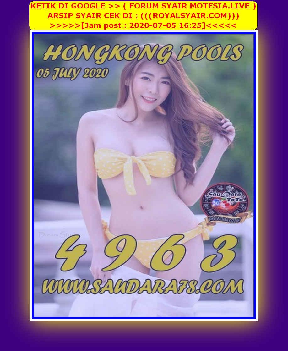 Kode syair Hongkong Minggu 5 Juli 2020 154