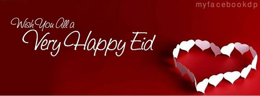 Red Cover For FB EId Mubarik 2013