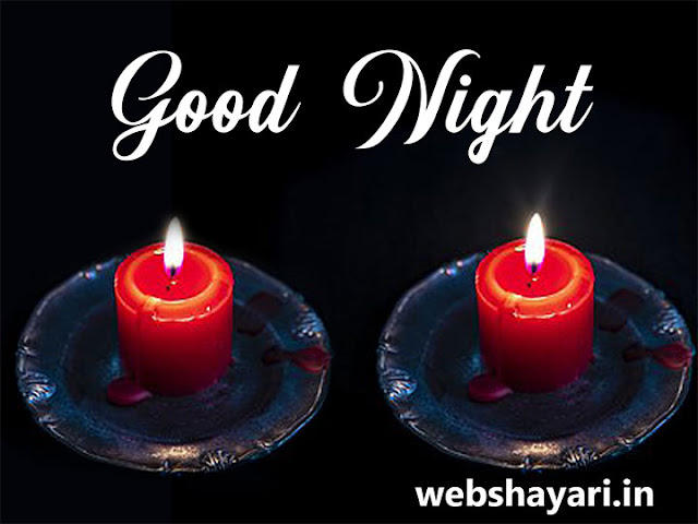 good night hd wallpaper with candle