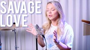 Savage Love (Cover) Lyrics - Emma Heesters