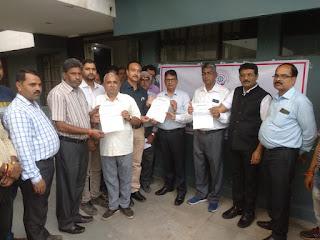 लघु उद्योग भारती पीथमपुर इकाई द्वारा जिला उद्योग केंद्र महाप्रबंधक को ज्ञापन