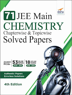 Download Disha JEE Main Chemistry Online Papers and Offline Papers Solved Papers till 2020 (Pdf)