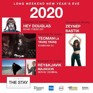 the stay alacati cesme yilbasi konserleri programlari 2020