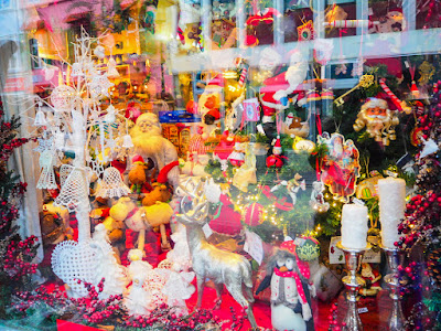 Tienda de decoración navideña en Reykjavik