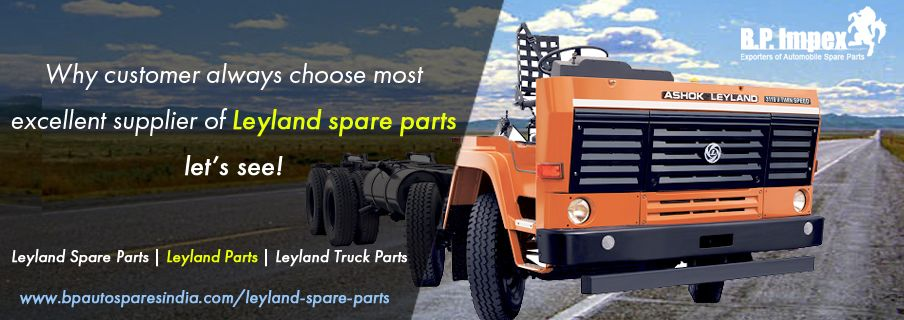 BP Auto Spares India - Leyland spare parts: 2018