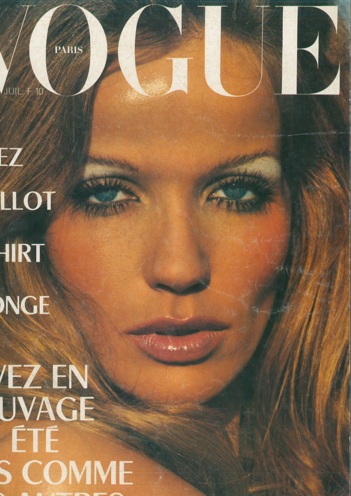 ba0f215afd June/July 1973 - Paris Vogue. Vivez en Maillot