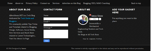 All Tech Buzz Blogger Template Free Download