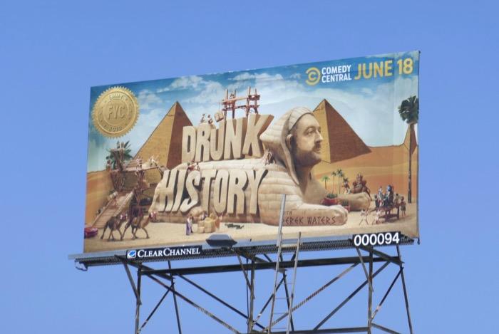 Drunk History season 6 Emmy FYC billboard
