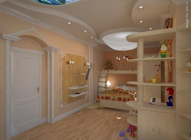 детские комнаты красивые