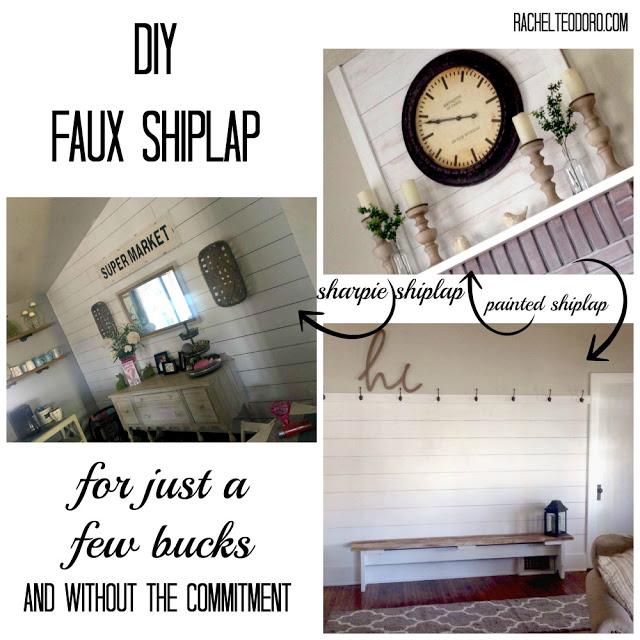 shiplap removable wallpaper