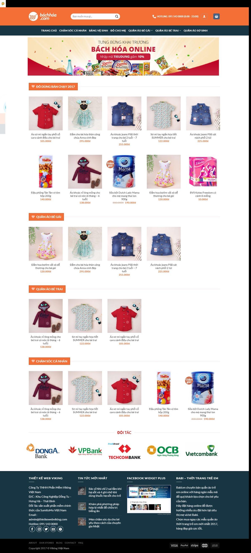 BÁN HÀNG 068 - quần áo trẻ em