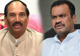 congress party leaders komatireddy venkata reddy, uttam kumar reddy, dk aruna comments on KCR
