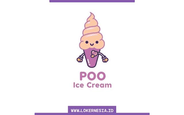 Lowongan Kerja Poopoo Ice Cream September 2021