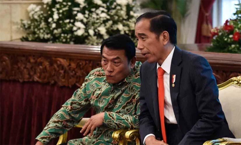 Jokowi dan Moeldoko