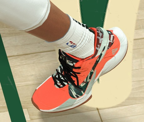 NBA 2K21 Nike Zoom Freak 2 'Bamo Shoes by Froilan Javier