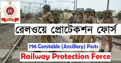 RPF Indian Railways Protection Force Recruitmetn 2019 - Apply Online For 798 Constable-www.bengalstudent.in