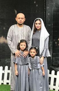 Foto Asha Shara dan Suami