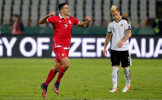 Matic và đồng đội vừa có chiến thắng 3-0 trên sân của Moldova.