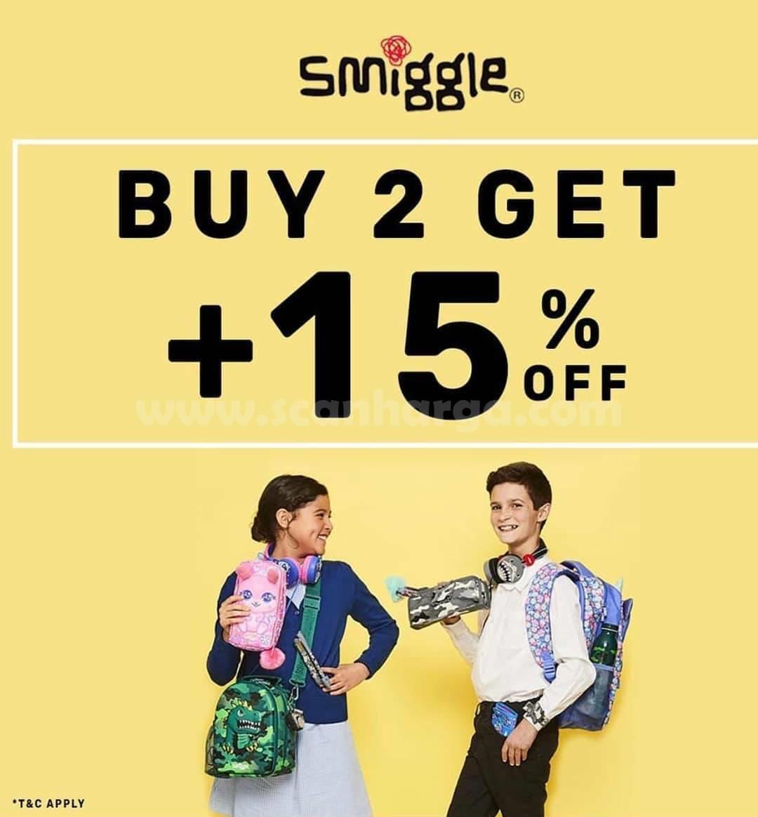Promo Smiggle Buy 2 Get + 15% Off