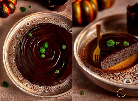 Proste i wilgotne ciasto kakaowe z dynią