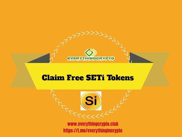 Claim Free SETi Tokens