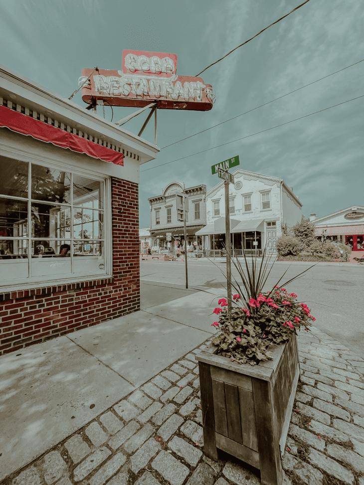 Main Street in Greenport, Long Island
