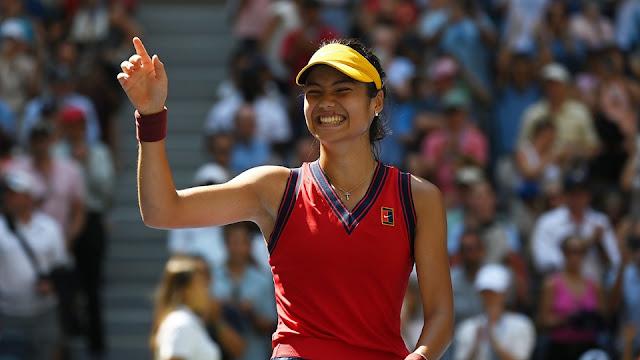 Emma Raducanu emocionada com vaga na semifinal do US Open
