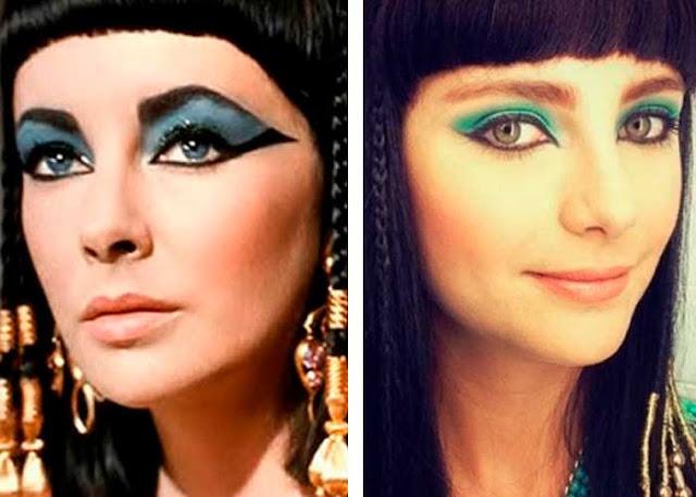 Dez mandamentos maquiagem egipcias