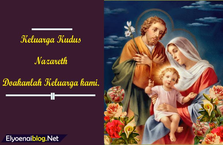gambar keluarga kudus nazareth
