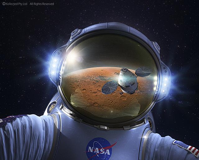 astronaut deep space - photo #18