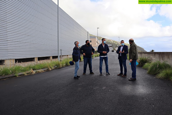 El grupo de gobierno de Santa Cruz de La Palma dará el impulso final a la zona industrial de Mirca