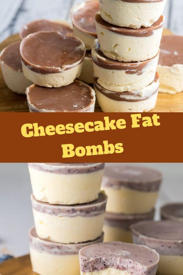 Cheesecake Fat Bombs