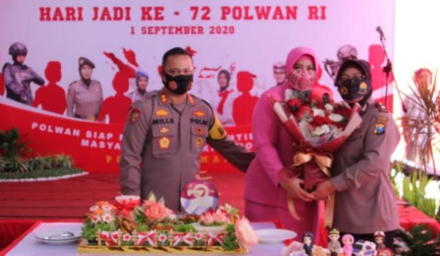 Hari Jadi ke-72 Polwan, Kapolres Lumajang: Polwan Harus Terus Berkarya