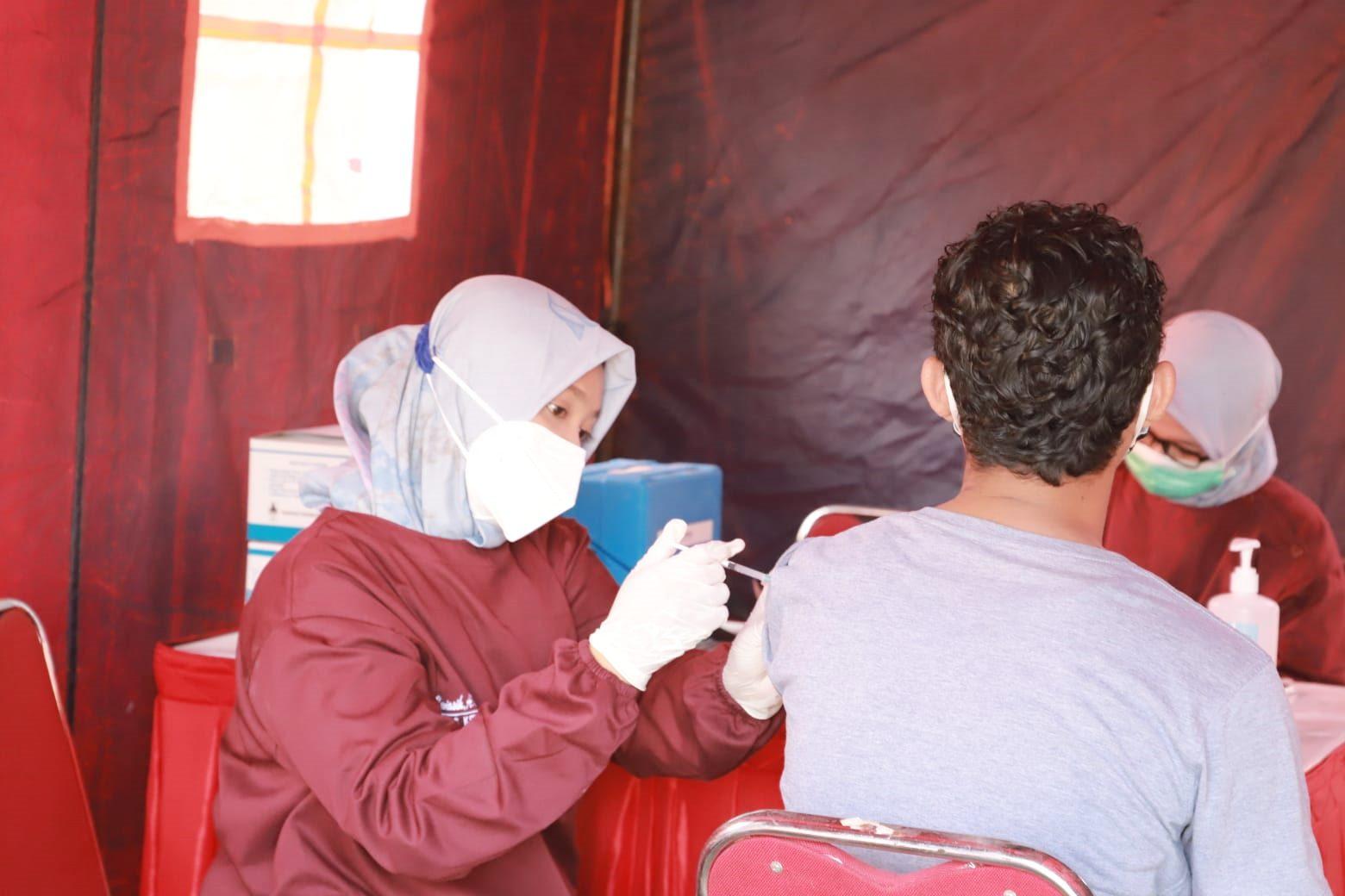 Polres Kebumen Siapkan 5.200 Dosis Vaksin Kedua