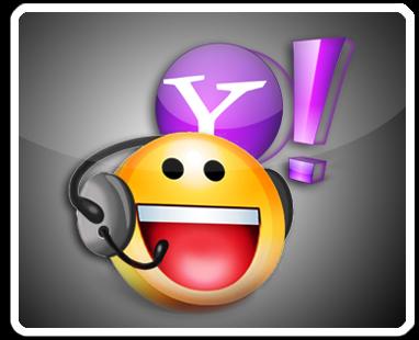 Yahoo Messenger, status yahoo di blog, status online yahoo di blog.