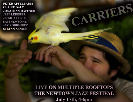 8 Saxophonists on 8 Rooftops - Saturday, July 17, 2021 @ 5:00 PM
