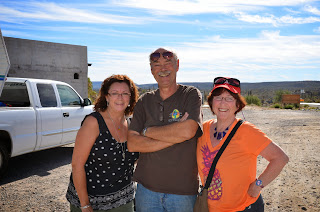 Dee, Dave and Lynne taking a break from driving